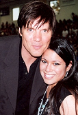 Paul Johansson & Cortni - March 24, 2007 (4th Annual JLafferty/OTH Charity Game)