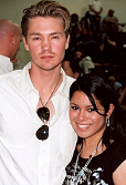 Chad Michael Murray & Cortni - March 24, 2007 (4th Annual JLafferty/OTH Charity Game)